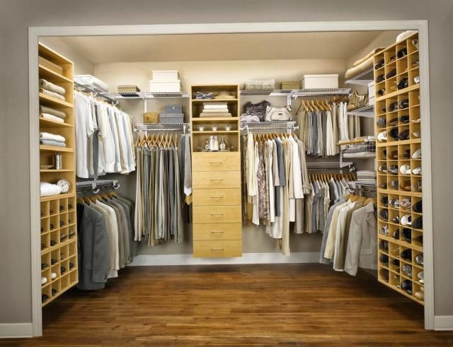 Master Bedroom Closet Organizers