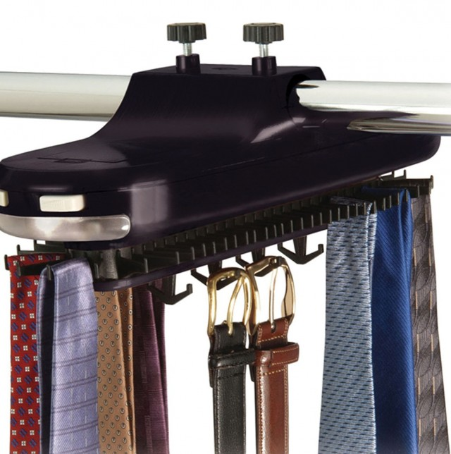 Motorized Tie Racks For Closets