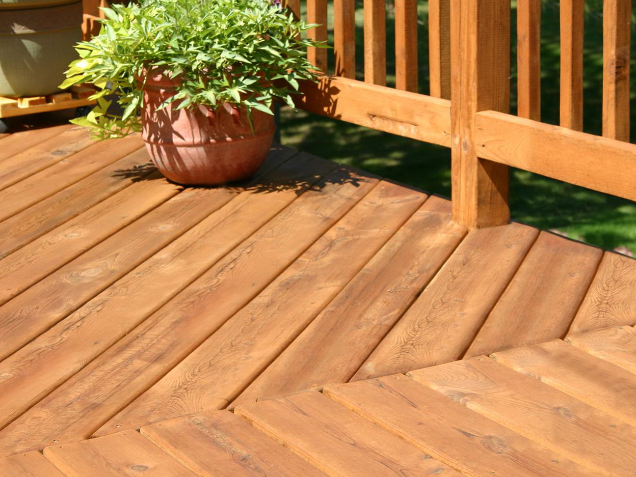 Non Wood Decking Material Over Boards