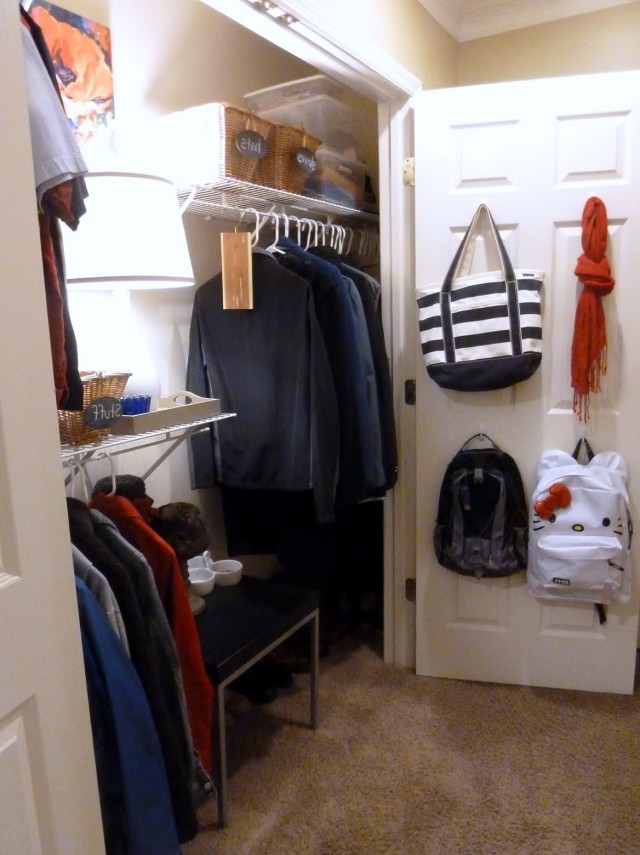 Organized Coat Closet Ideas