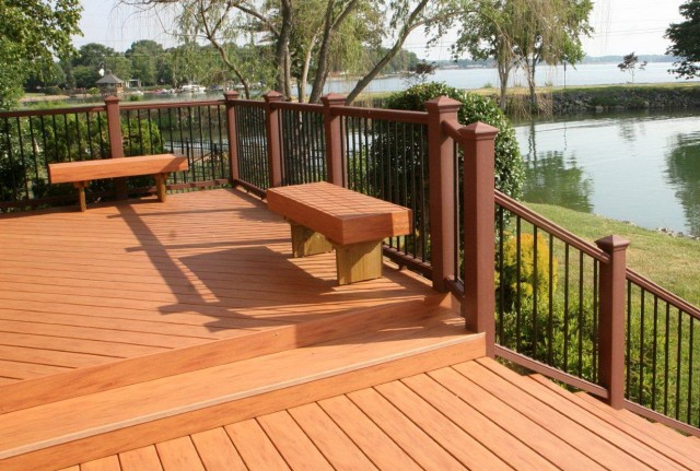 Outside Deck Ideas Images
