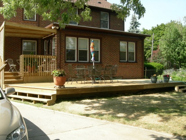 Pictures Of Front Porch Decks
