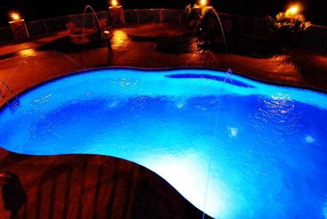 Pool Deck Jets Led