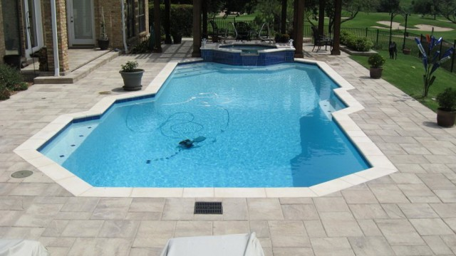 Pool Deck Pavers Pictures