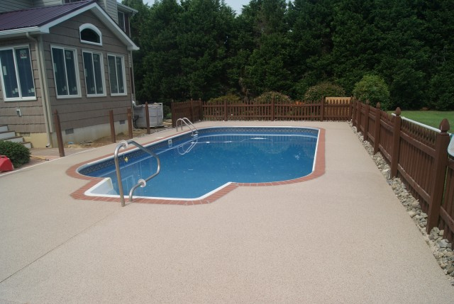 Pool Deck Repair Diy