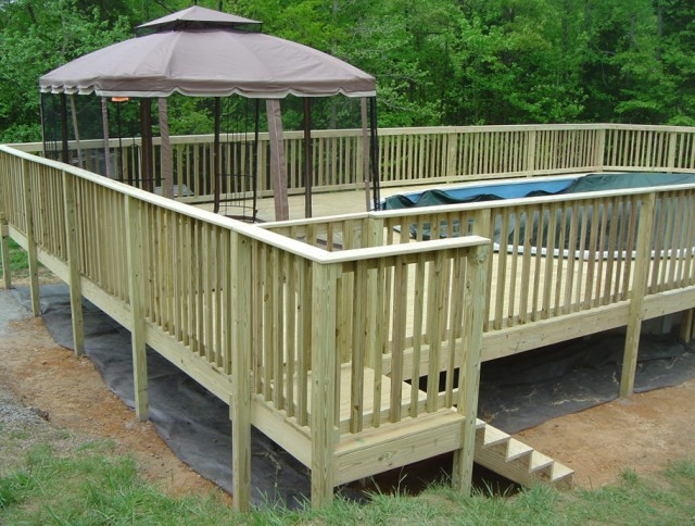 Portable Gazebo For Decks