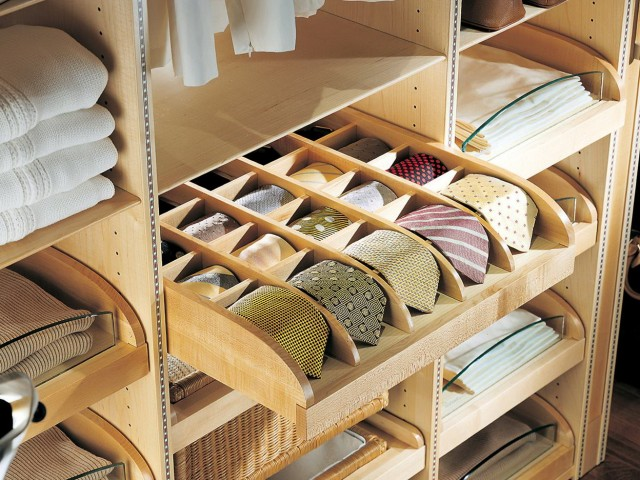 Pull Out Tie Racks For Closets