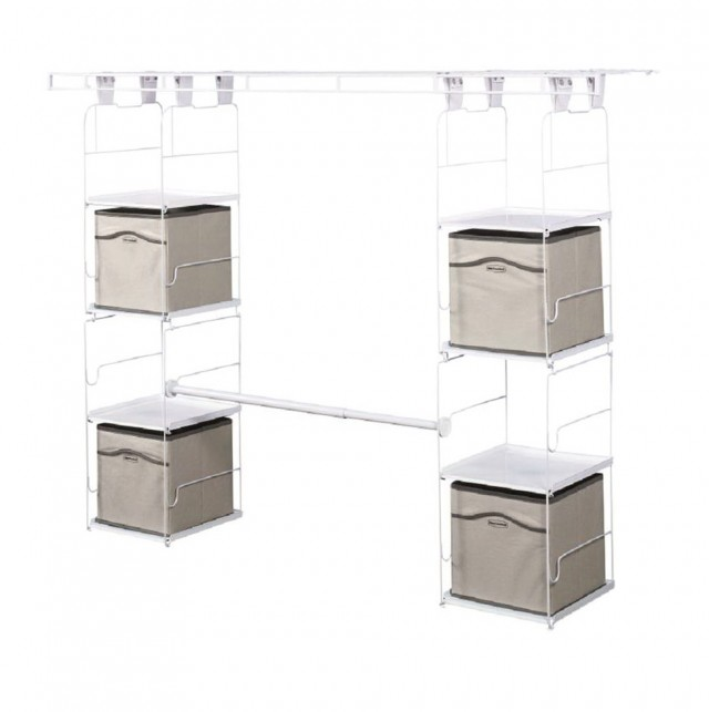 Rubbermaid Closet Helper 4 Shelf