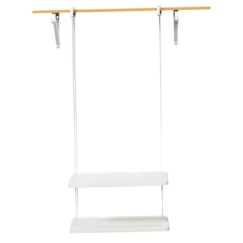Rubbermaid Closet Helper 4 Shelf Unit