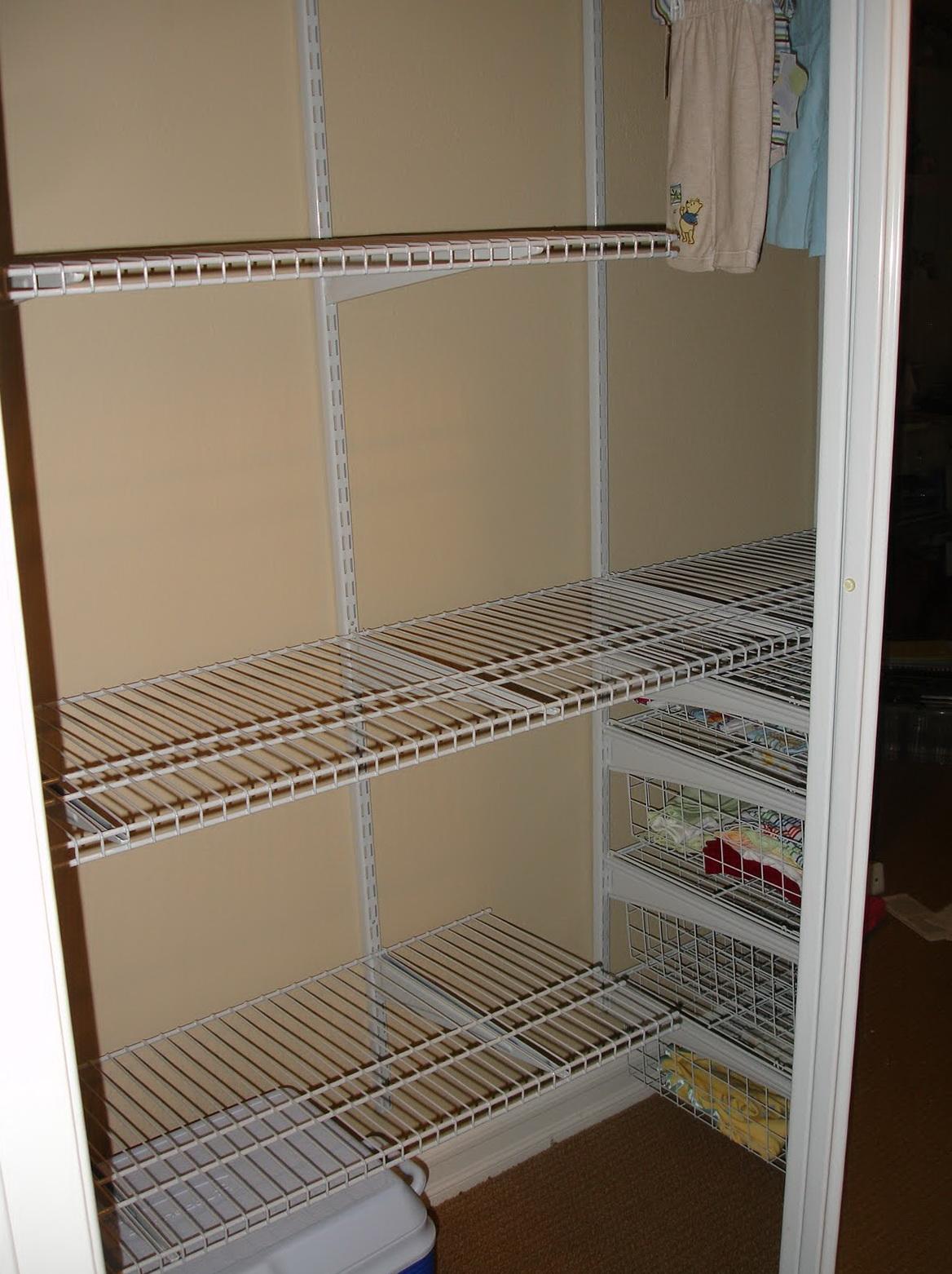 Shelves For Closets Home Depot