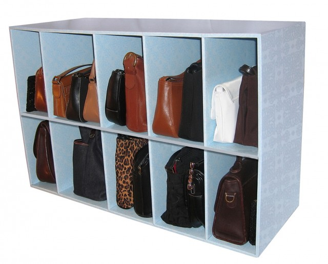 Shoe And Purse Closet Organizer