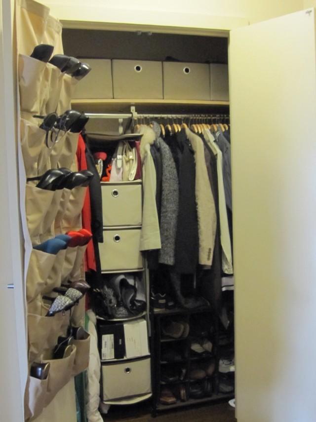 Shoe Storage Ideas Small Closet