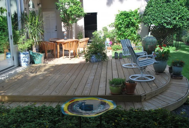 Simple Backyard Deck Designs
