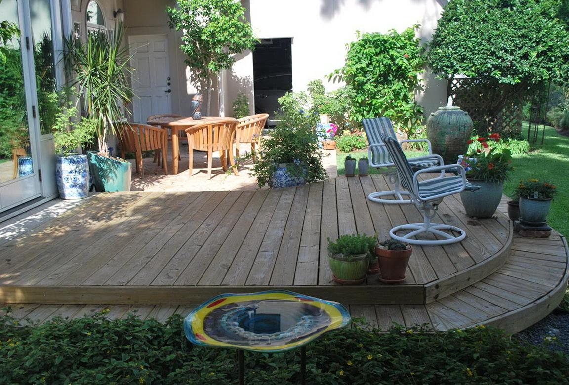 Simple Backyard Deck Designs