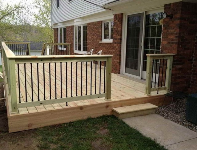 Simple Deck Designs Pictures