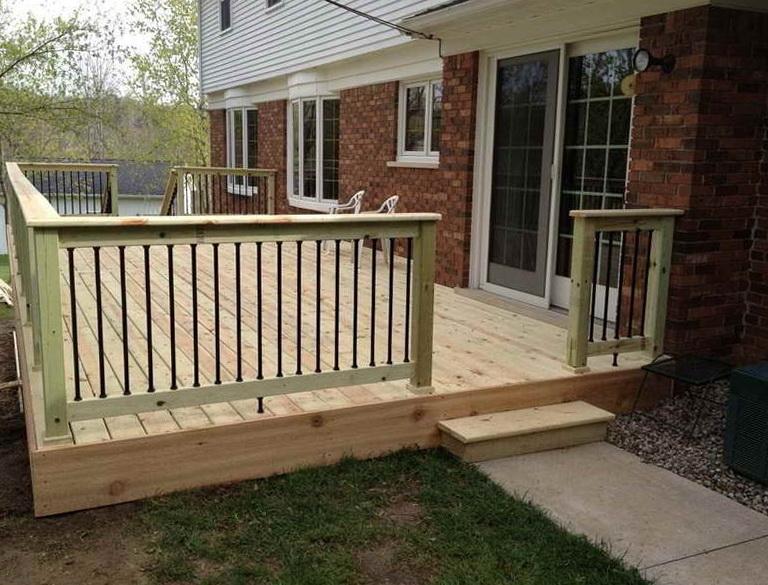 Simple Deck Designs Pictures
