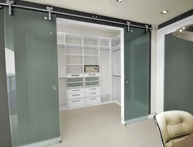 Sliding Door Closet Organization