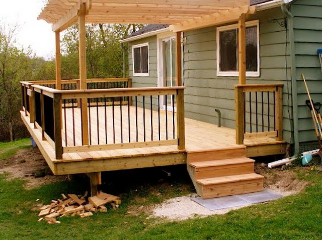 Small Deck Designs Ideas