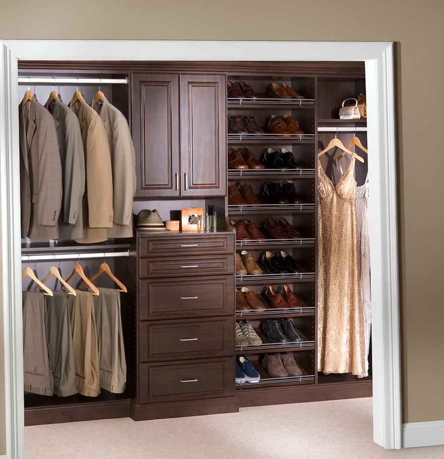 Small Reach In Closet Ideas