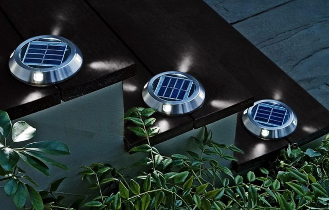 Solar Powered Deck Lights B&q