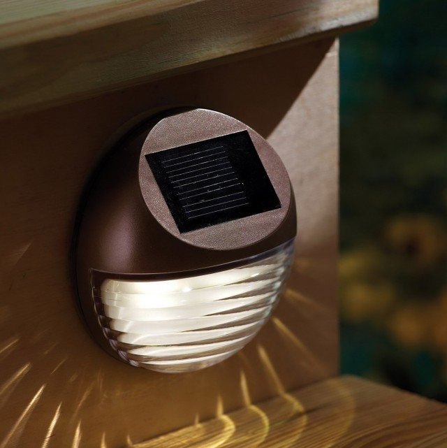 Solar Powered Deck Lights Outdoor