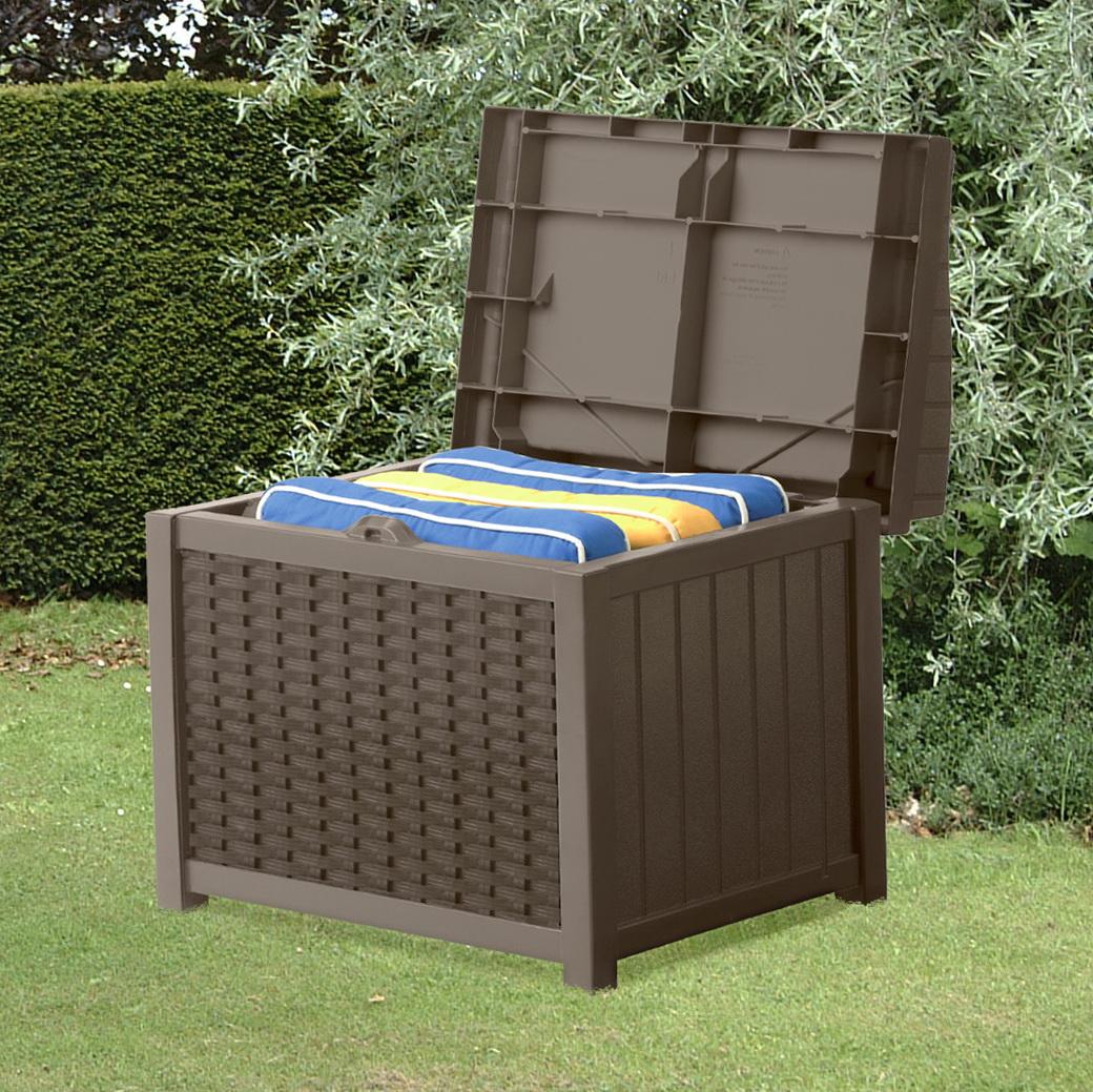 Suncast Deck Box With Seat Java