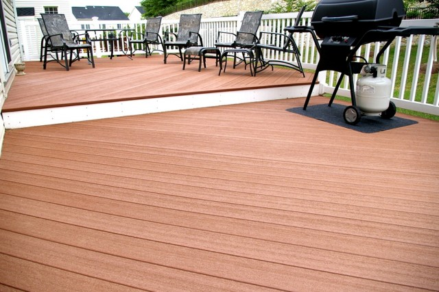 Tongue And Groove Composite Decking Boards