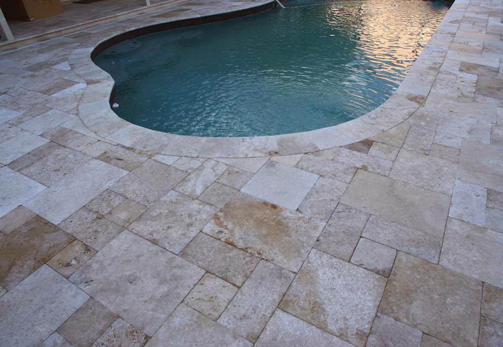 Travertine Pavers For Pool Decking