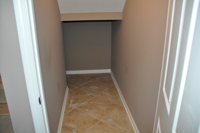 Under Stairs Closet Organizer