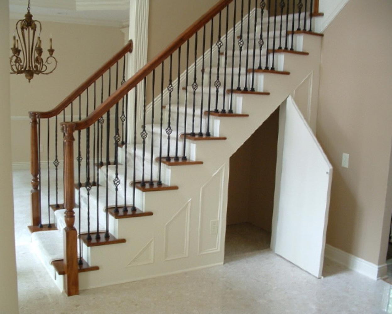 Under Stairs Closet Storage Ideas