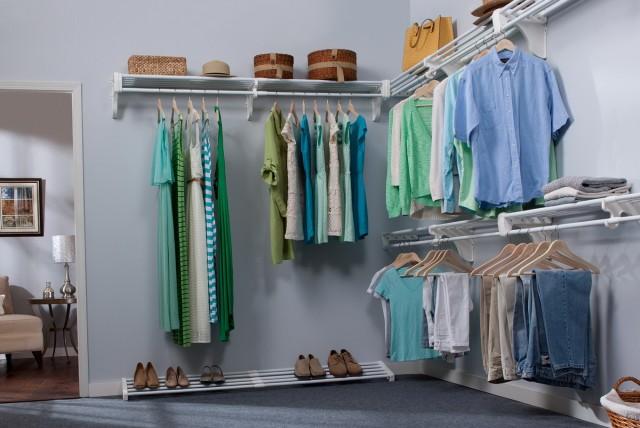 White Closet Organizers Sets