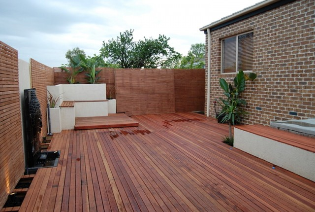 Wood Deck Ideas Plans