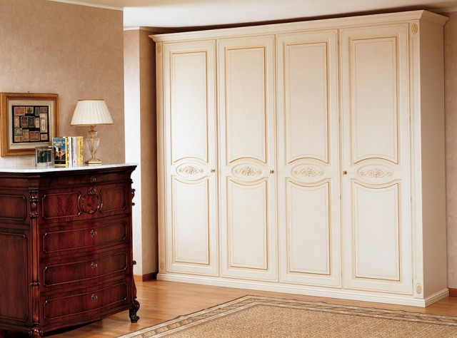 Wood Wardrobe Closet Home Depot