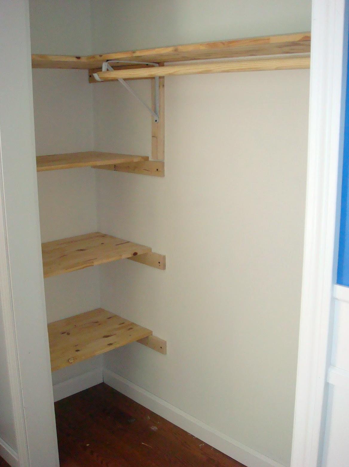 Wooden Closet Clothes Rods