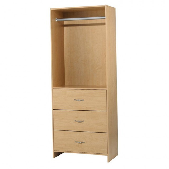 Wooden Closet Organizers With Drawers