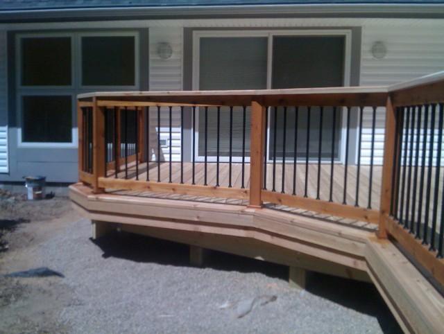 2x6 Deck Railing Ideas