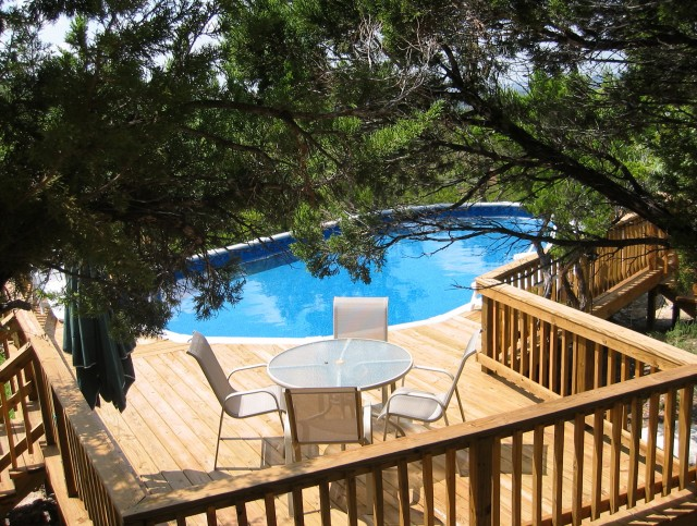 Above Ground Swimming Pool Decks For Sale