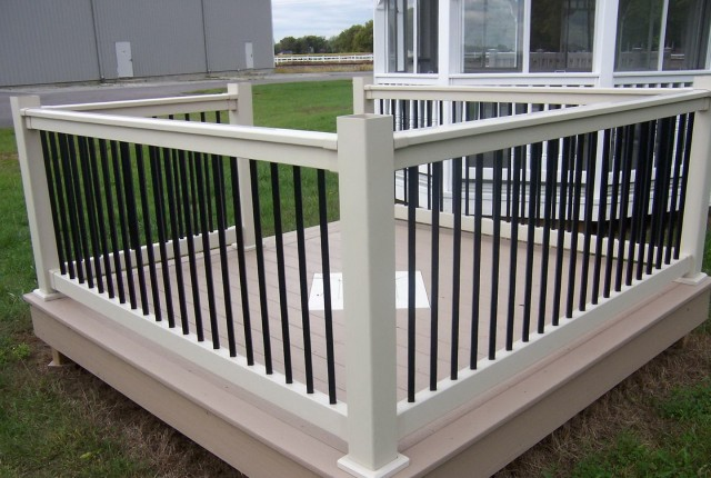 Aluminum Deck Balusters Square