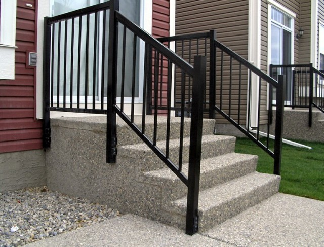 Aluminum Deck Railing Home Depot