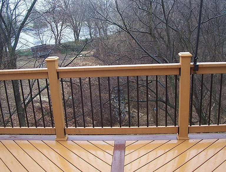 Aluminum Deck Railing Ideas