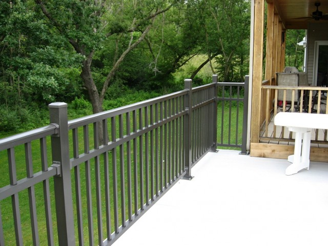 Aluminum Deck Railings Home Hardware