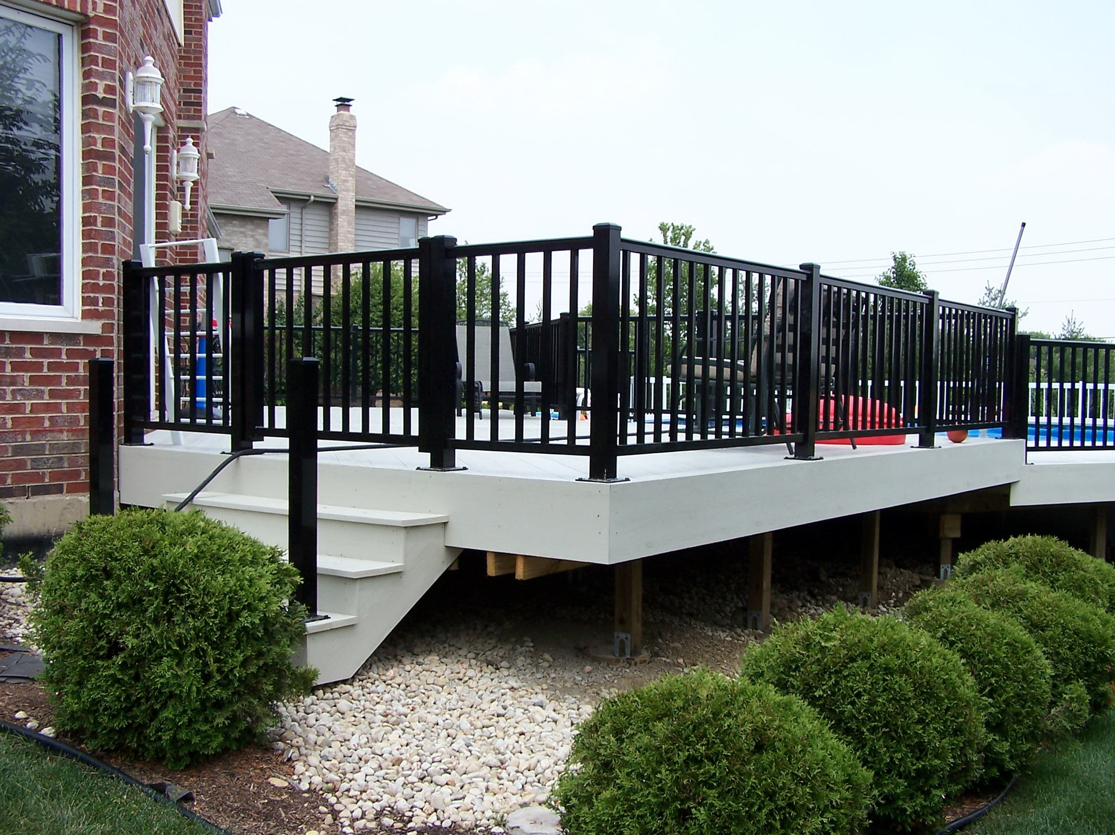 Aluminum Deck Railings Lowes
