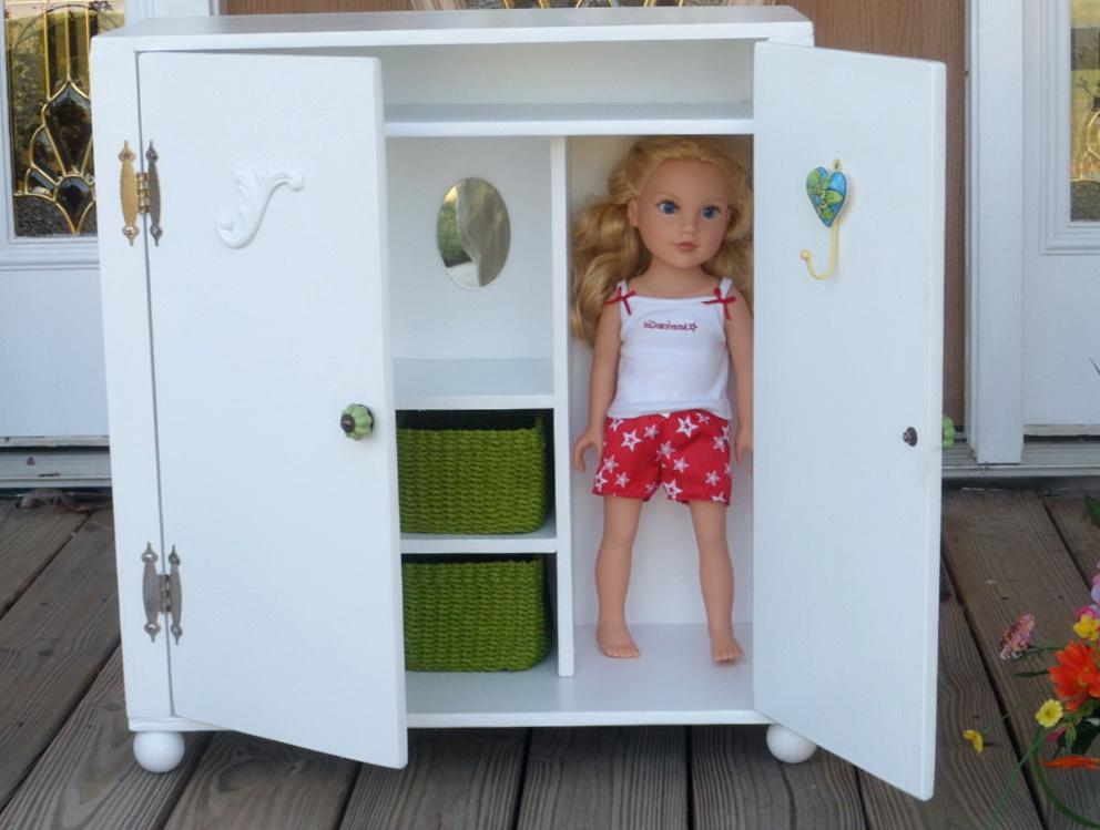 American Doll Wardrobe Closet