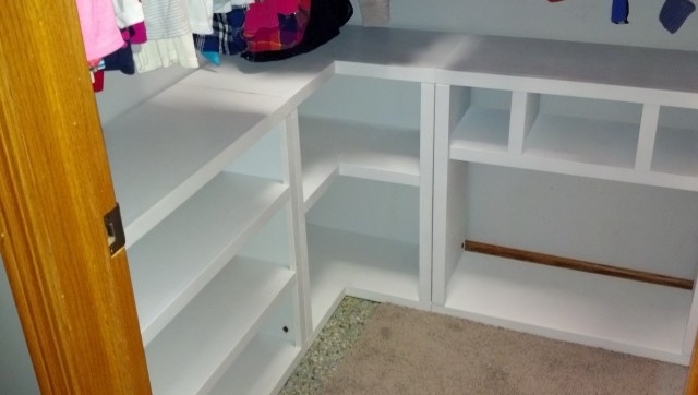 Ana White Closet Organizer Plans