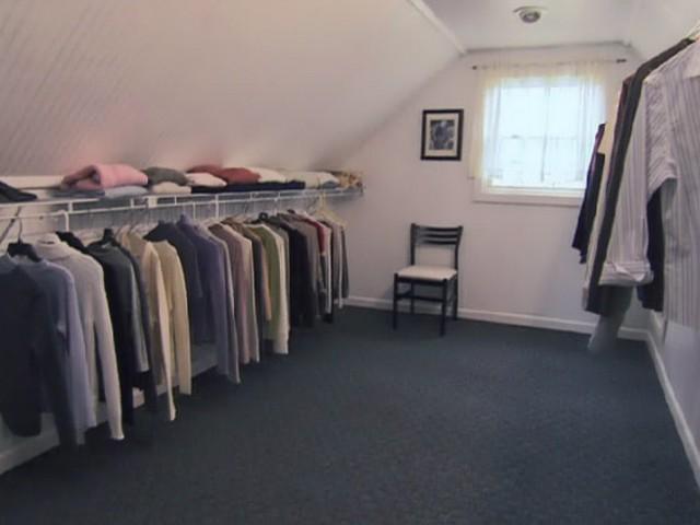 Attic Closet Design Ideas