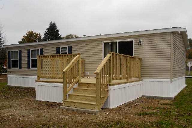 Back Decks For Mobile Homes