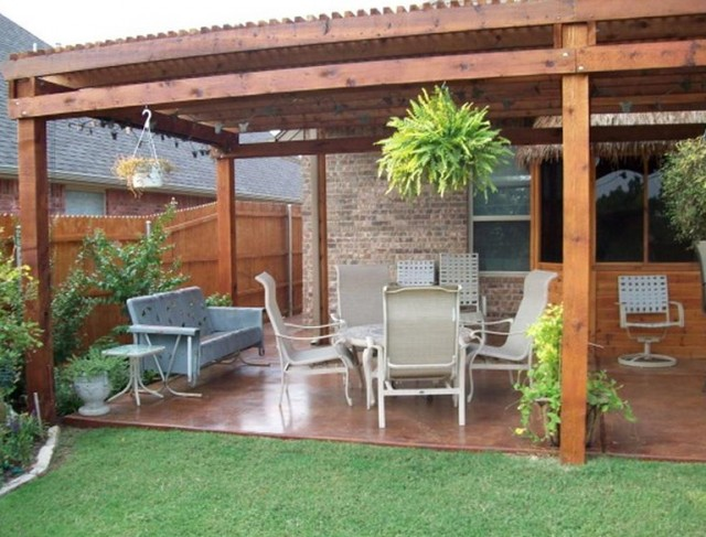 Back Patio Deck Designs