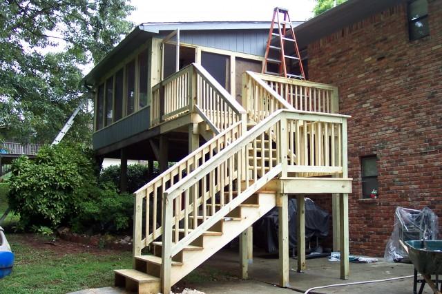 Back Porches And Decks