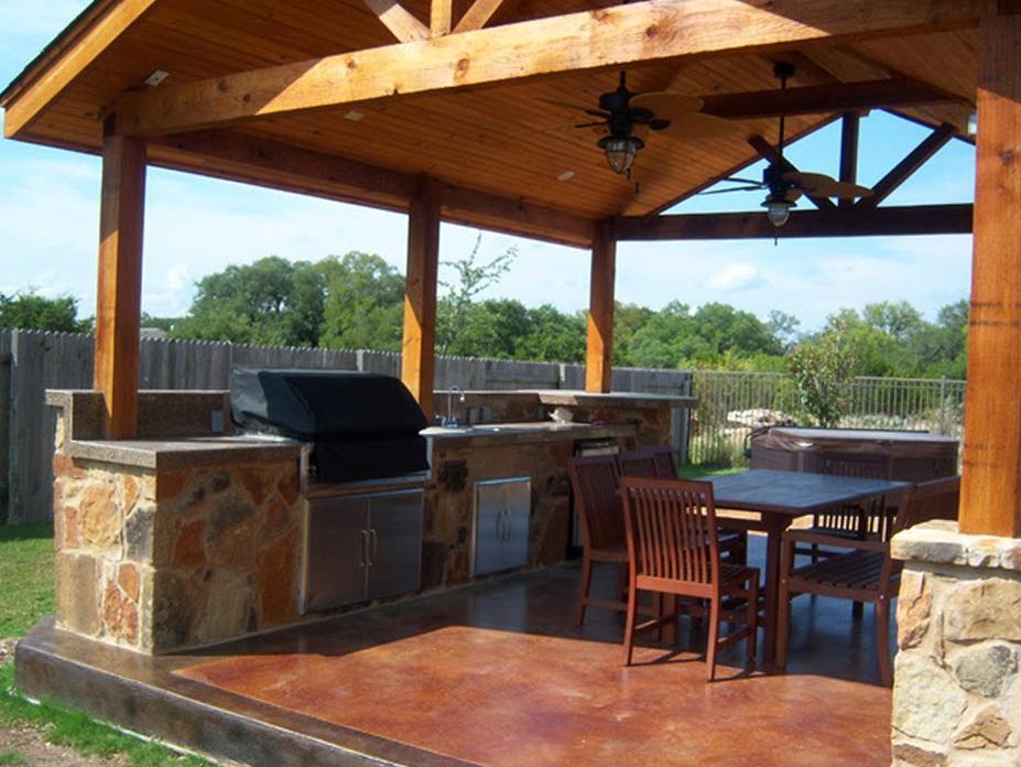 Backyard Deck Plans Pictures