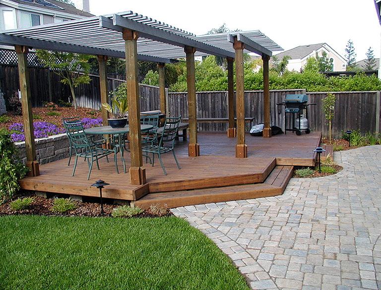 Backyard Decks And Patios